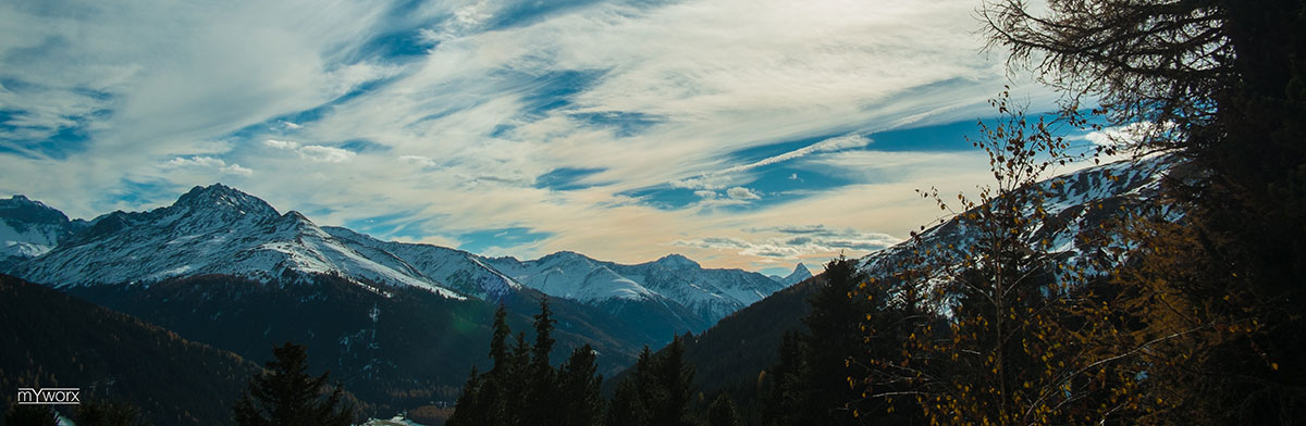 Rinerhorn - Davos - Herbst